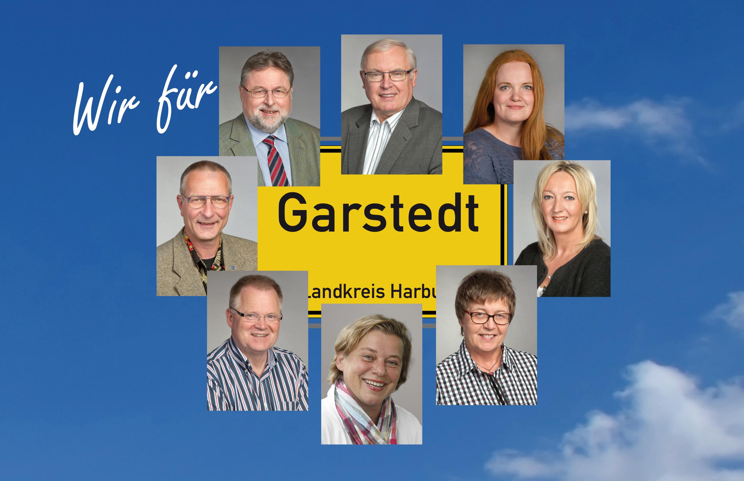 Acht Köpfe für den künftigen Garstedter Gemeinderat