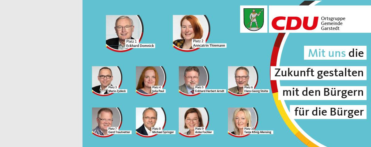 Kommunalwahl 2021 Gemeinde Garstedt